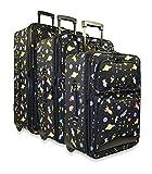 Ever Moda Galaxy 3-Piece Luggage Set