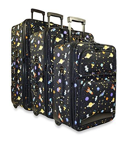 Ever Moda Galaxy 3-Piece Luggage Set by Ever Moda