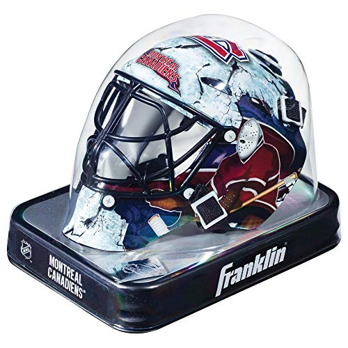 Franklin Sports NHL League Logo Montreal Canadiens Mini Goalie Mask