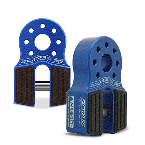 (Factor55 FlatLink Loaded Shackle Mount (16.000 Lbs) - Blue)