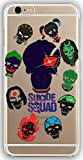 silicone gel cover case with suicide squad design for iphone 6 6s 4 7in ssq09s