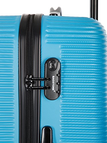 BAGSTONE Set de 3 trolleys rígidos Dream Azul 66 cm Azul