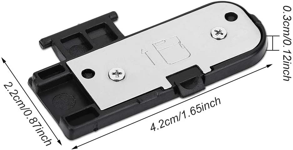 Mugast Digital Camera Battery Door Cover,Camera Lid Cap Repair Replacement for Nikon D5100 Cameras,for Old Battery Compartment Lid.