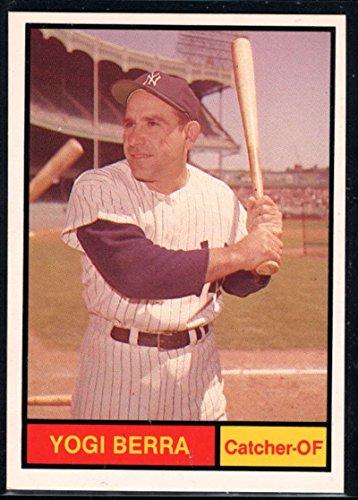 Baseball MLB 1982 Galasso 1961 World Champions New York Yankees #2 Yogi Berra Yankees ()