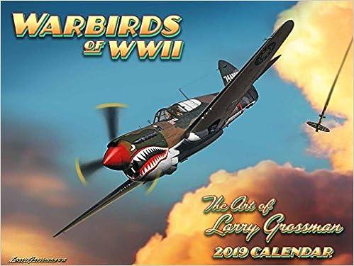 World War II Warbirds 2019 Calendar: Larry Grossman: 9781631142338