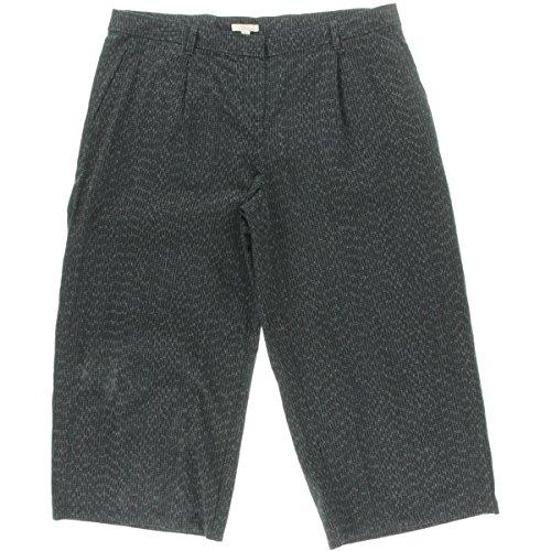 Eileen Fisher Organic Cotton Wide Leg Crop Pants M L PL MSRP $198.00 (L)