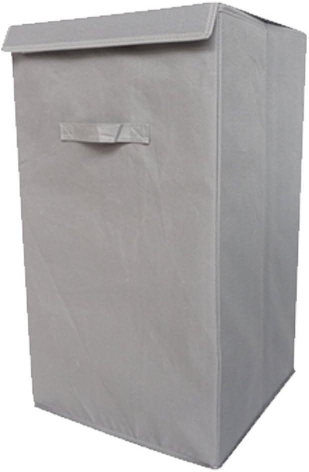 DormCo Folding Laundry Hamper - TUSK Storage - Gray