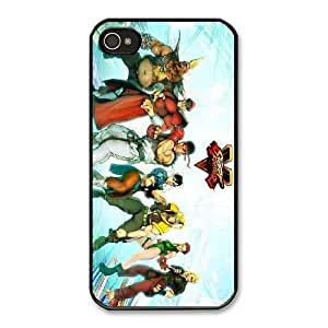 The best gift for Halloween and ChristmasiPhone 4 4s Cell Phone Case Black Street Fighter V Fighters RPR4995022