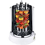 Wonderper Vertical Rotisserie Oven Electric Grill Countertop Oven Shawarma Machine Rotisserie Grill