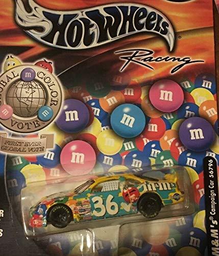 NASCAR 2002 Ken Schrader #36 MMS M&Ms Color Vote Series 4 of 4 1/64 Scale Diecast