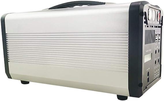 MSG ZY Central eléctrica portátil del generador para Acampar/Recarga Solar al Aire Libre 800W-1000W
