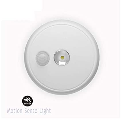 Xiaodu Ronda Infrarrojos Batería Automática De Emergencia Cuerpo Humano Inducción LED Techo Luz