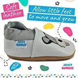 Soft Leather Baby Boy Shoes - Baby Shoes with Suede Soles