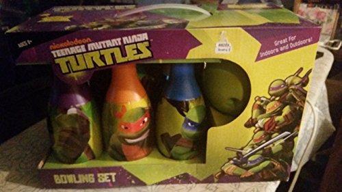 ninja turtles bowling set - 6