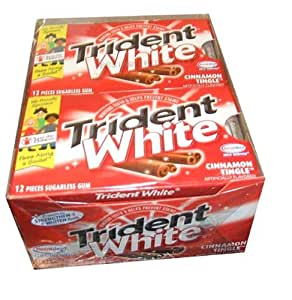Trident White Cinnamon Tingle