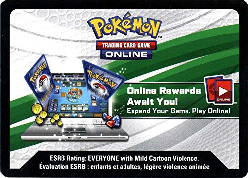 Pokemon X & Y Promo Mythical Pokemon Collection - Mew Single Online Code Card