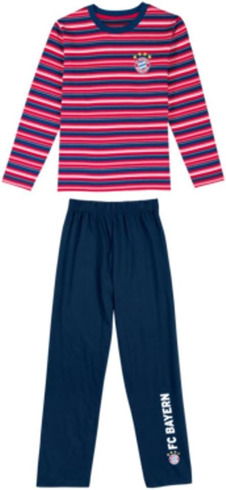 FC Bayern pijama, niños Varios colores multicolor Talla:140 ...