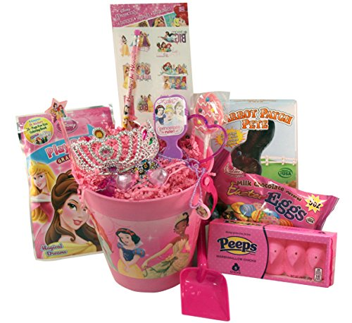 Disney Princess Easter Basket Stuffers for Girls with Toys and Treats Great for Toddlers and Girls ages 3-7 over 20 (Disney Discount Code)