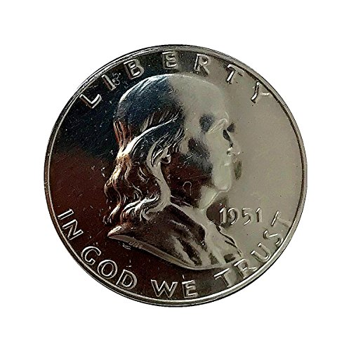 1951 P Franklin Half Dollar - Gem Proof - PF/PR ()