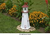 Amish-Made Marblehead, OH Replica Lighthouse, 121'' Tall