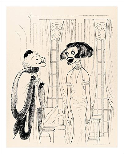 Al Hirschfeld's LEGENDS Hand Signed Limited Edition Lithograph; Carol Channing & Mary Martin