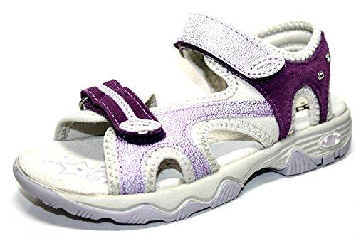 Sandales lave Chaussures Violet Filles Enfants Slv 54 Air by Sabaria Plein en Richter Pour Sandales Blanc 8785 0008 qwE8zH6
