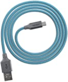 Ventev chargesync Alloy Cable, Micro USB, 4ft, Cobalt