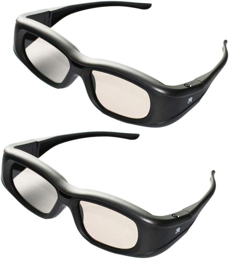 Gafas 3D para Proyector De Películas, Obturador 3D Recargable ...