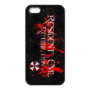 Customize Resident Evil Back Cover Case for iphone 5,5S JN5S-1333