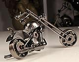 MYTANGCreative Office Desktop Accessories Harley Davidson Metal Motorcycle Model Artwork (m39-balck)