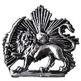 Iranian Persian Pahlavi Kingdom Shir Khorshid Lion Sun Sword Tie Suit Pin Iran Brooch