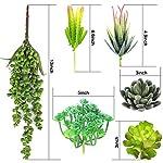 Childom-Faux-Succulents15-Artificial-Succulents-Plants-Flocked-Green-Unpotted-Fake-Succulents-Stems-Bouquet-String-of-Pearls-Echeveria-Succulents-for-Floral-Arrangement