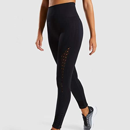 NSYJKPantaloni da yogaMujeres New Energy Seamless Leggings ...