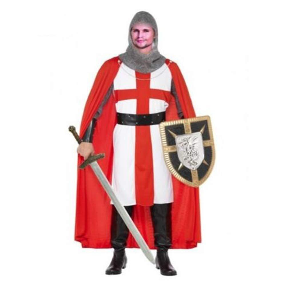 EraSpooky Disfraz de Caballero Medieval Cosplay Traje de Fiesta de ...
