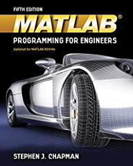 Master the MATLAB technical programming language with MATLAB PROGRAMMING FOR ENGINEERS, 5E! Emphasizing problem-solving skills throughout, this latest edition of Chapman's successful book shows you how to write clean, efficient, and well-docu...