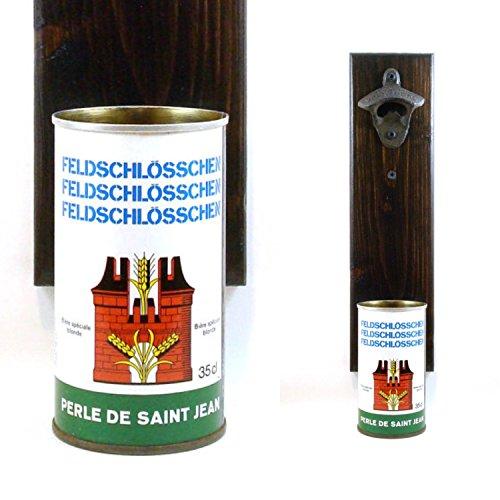 wall-mounted-german-bottle-opener-with-a-vintage-feldschlosschen-beer-can-cap-catcher-groomsman-or-b