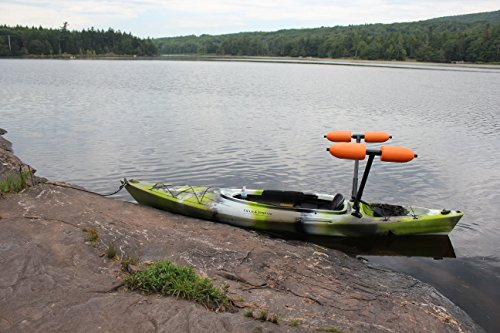 Kayak Outriggers / Stabilizers w/ WHITE FLOATS