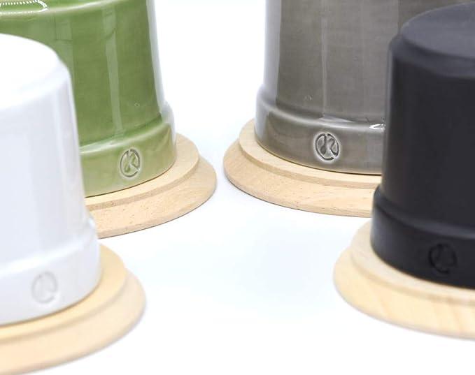 finition brute /Ø 80 mm Klartext Base en bois pour interrupteurs et prises BELLE /ÉPOQUE