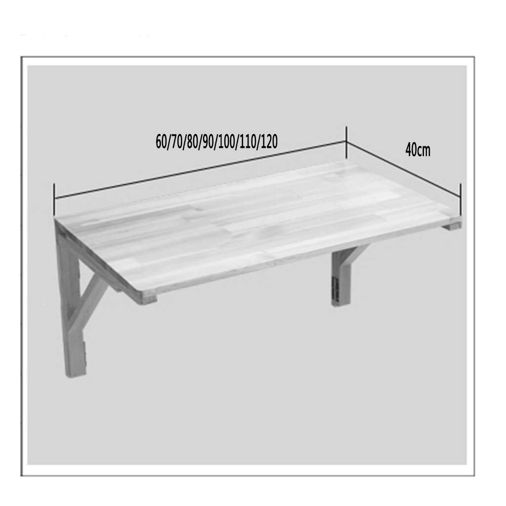 Love-zhuozi Mesa de Comedor Comedor Comedor de Pared Plegable Mesa de Comedor Escritorio de computadora Escritorio Plegable Plegable (Color : A, Tamantilde;o : 60  40cm) e78e26