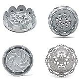 Hookah Bowl Lotus 2 Heat Management System Upgraded Shisha Aluminum Hookah Charcoal Holder for Best Airflow