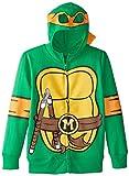 Teenage Mutant Ninja Turtles Big Boys' Character Hoodie, Shell Green, X-Large