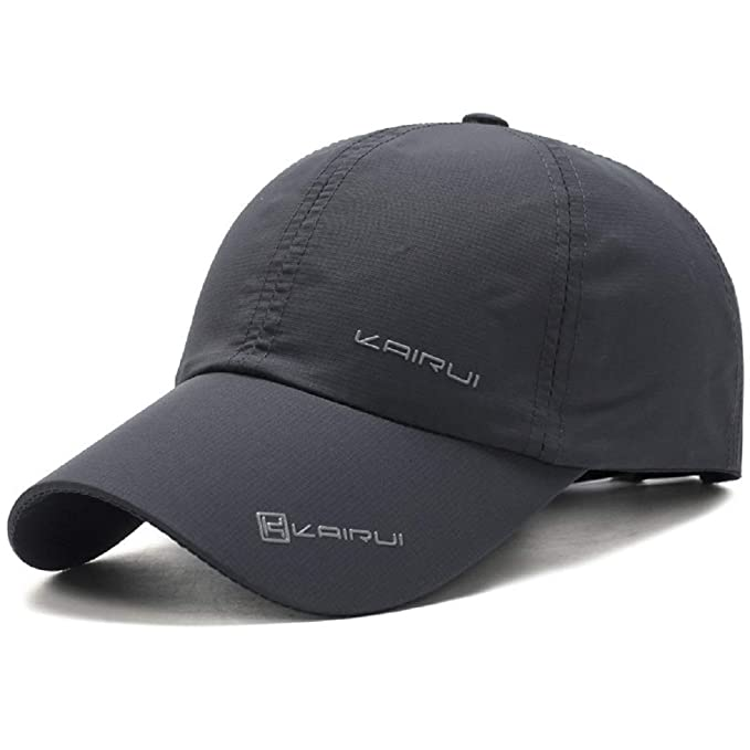 e933b06bf137 Image Unavailable. Image not available for. Colour  Oulm Baseball Adjustable  Grey Cap for Men   Boys ...