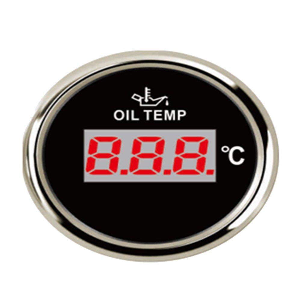 Homyl 1 Unid de Panel de Medida de Temperatura de Aceite de ...