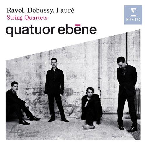 Ravel, Debussy & Fauré String Quartets