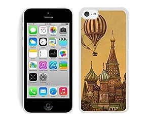 Classic Top Art Design iPhone 5C Case White Cover