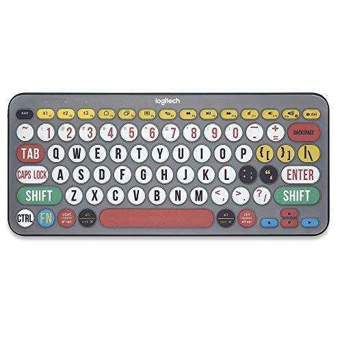 protector de teclado para Logitech K380 ingles colour