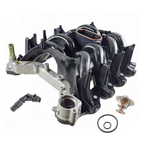 (Upper Intake Manifold w/Gaskets for Ford E-Series F-Series Pickup Truck 5.4L V8)