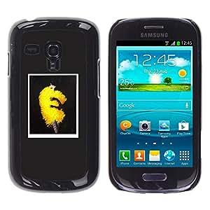 Ihec Tech Art Mode Jaune Puffy Fluffy Tendance Robe / Coque Etui Coque étui de portefeuille protection Coque Case Cas / for Samsung Galaxy S3 MINI 8190