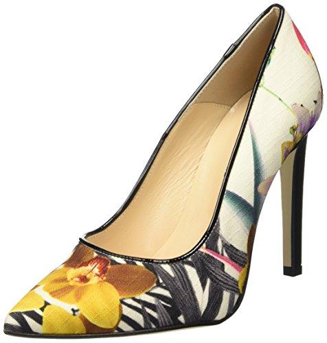 Pollini à Multicolore Fiori Sa1028ac11tr Talon Fermé Femme avec Bout Un Multicolore Chaussures SqSwBXxr4