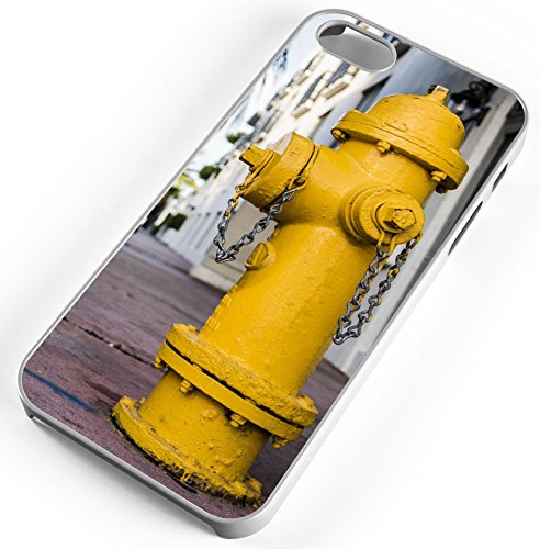 Rubber Hydrant - iPhone Case Fits iPhone 8 Fire Hydrant Water Valve Hose Company White Rubber